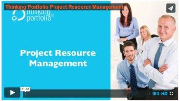 Bekijk Thinking Portfolio PPM Resource Management in 60 seconden  (video)