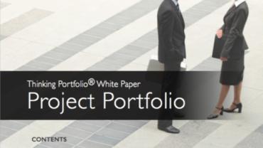 New! Thinking Portfolio – Project Portfolio – White Paper – 2016